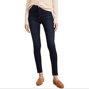 Rag & Bone High Rise Ankle Skinny Jeans Size 25